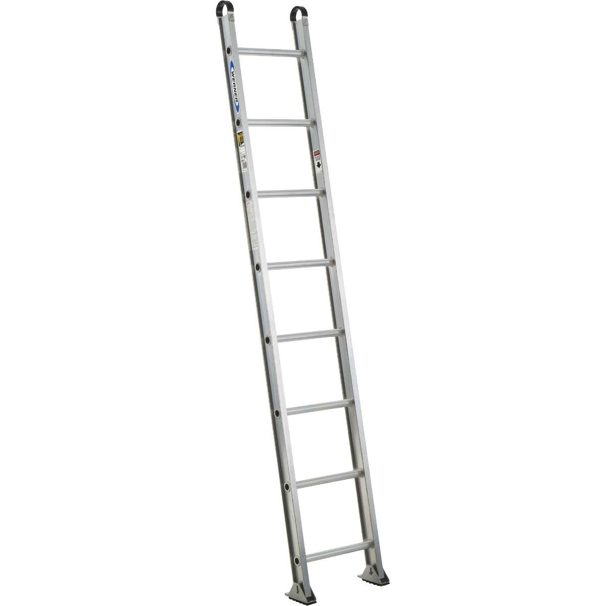 Aluminum Straight Ladder - 375 lb. Rated (500-1)