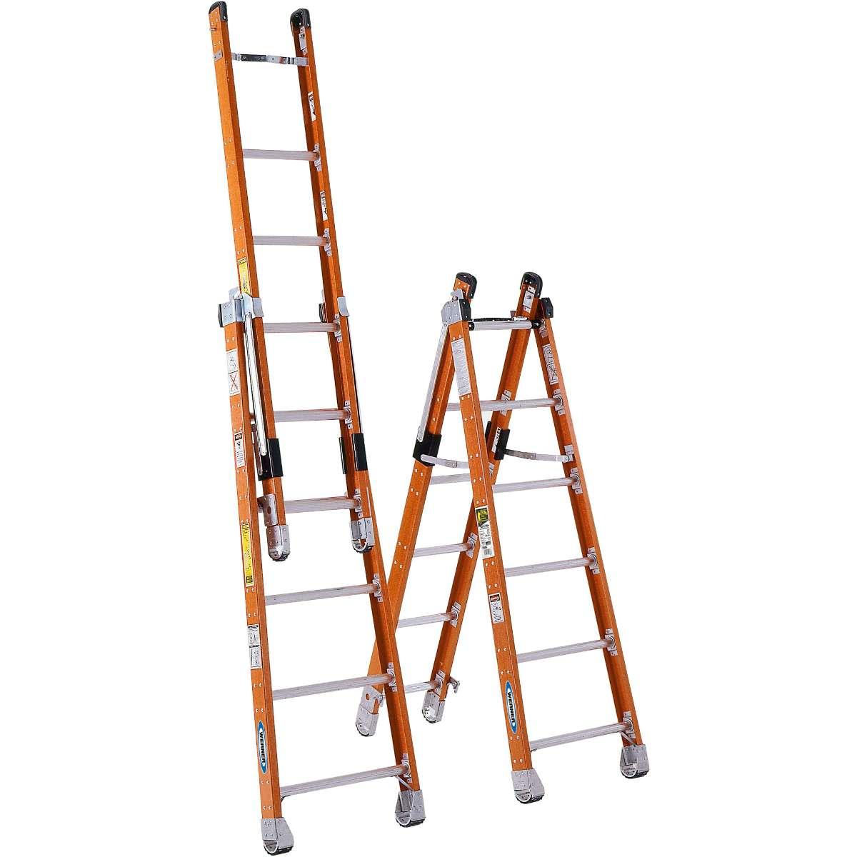 Fiberglass Multi Purpose Ladder - 375 lb. Capacity (7800 Series)
