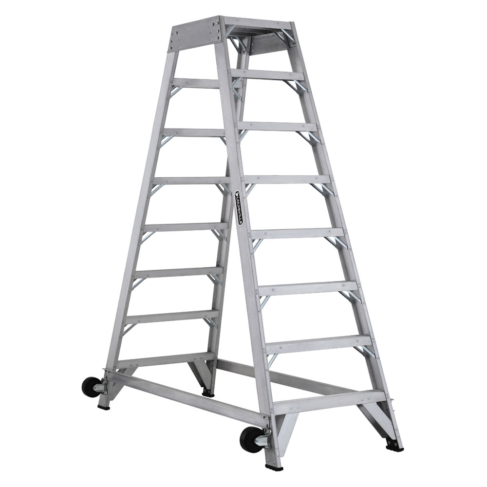 Louisville Aluminum Aircraft Ladder - 300 lb. Rating