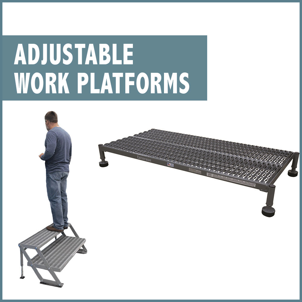 Adjustable Work Platforms