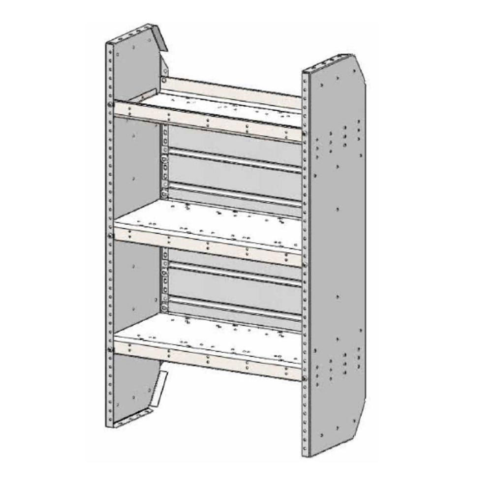 Transit Connect Shelving