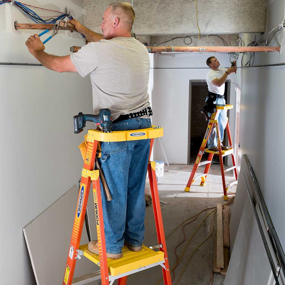 Work Platform Amp Podium Ladders National Ladder