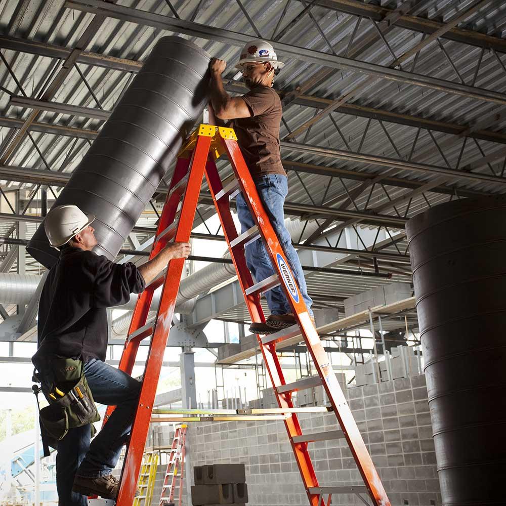 Step Ladders for Sale | Aluminum & Fiberglass Step Ladders