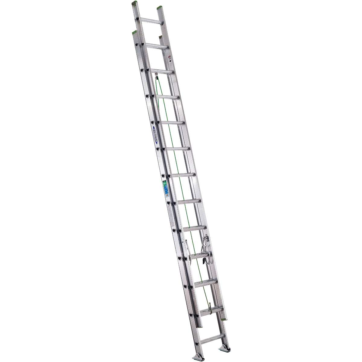 Werner Flat Step Extension Ladder 225 Lb Capacity D1200 2