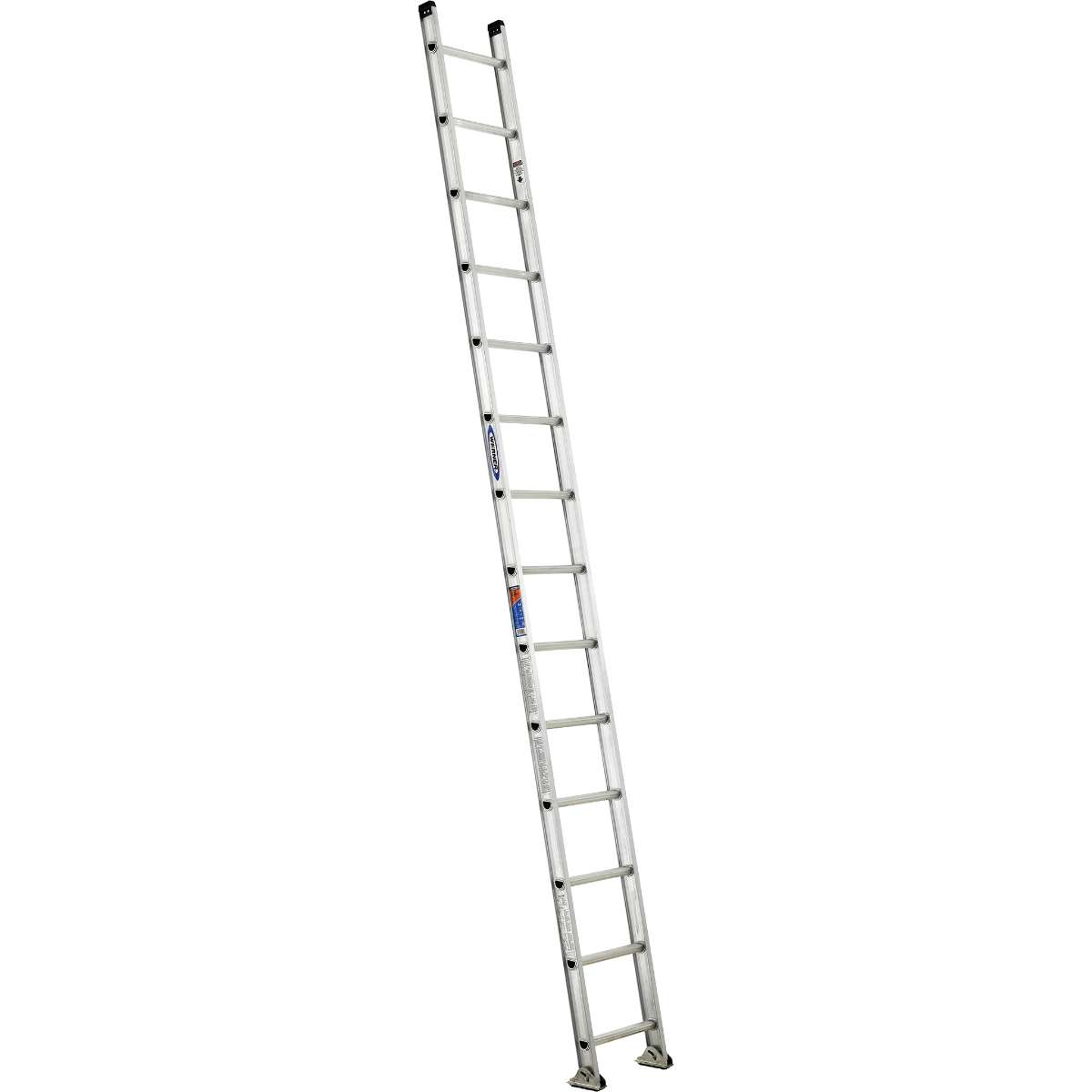 Aluminum Straight Ladder - 300 lb. Rated (D1500-1)