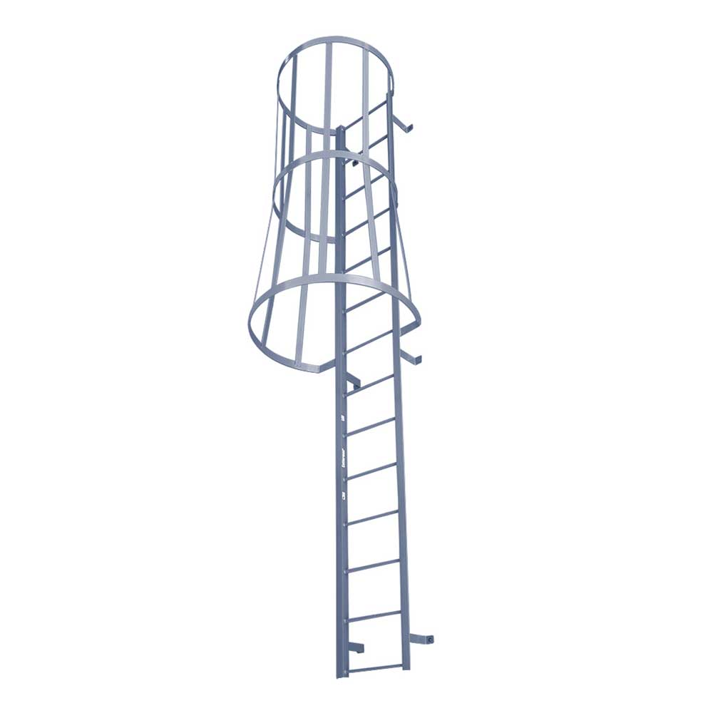 Fixed Ladders W Safety Cages Fsc Series
