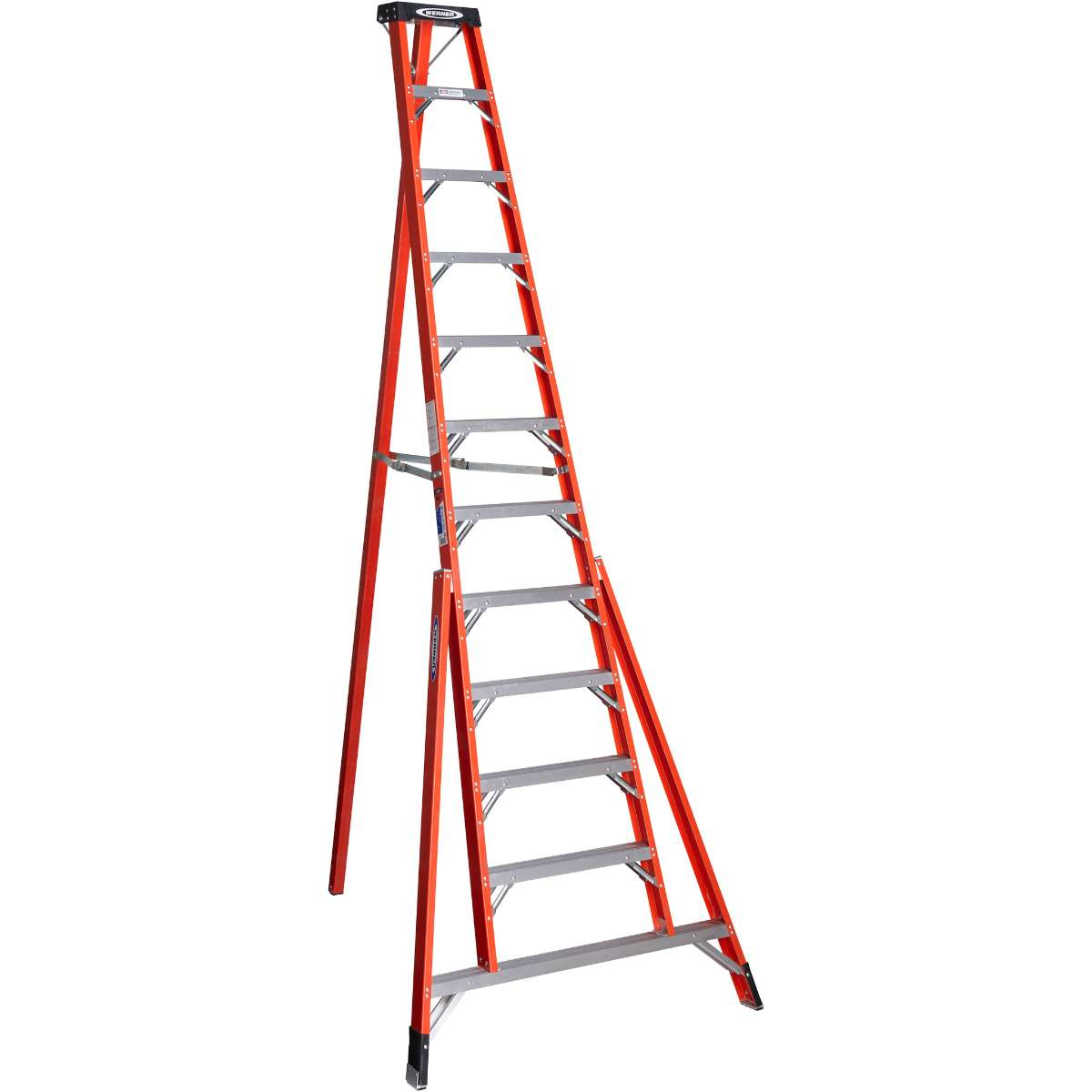 Fiberglass Tripod Step Ladder - 300 lb. Capacity (FTP6200 Series)