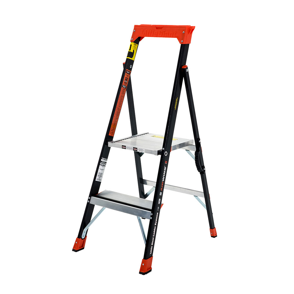 Little Giant Air Wing Platform Stepladder - 375 lbs. Rated