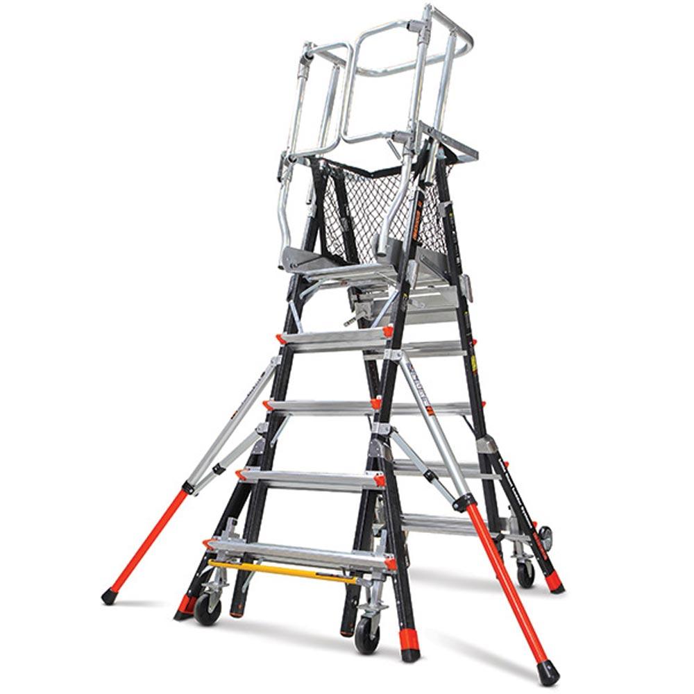 Little Giant Adjustable Safety Cage Type Iaa 375 Lbs