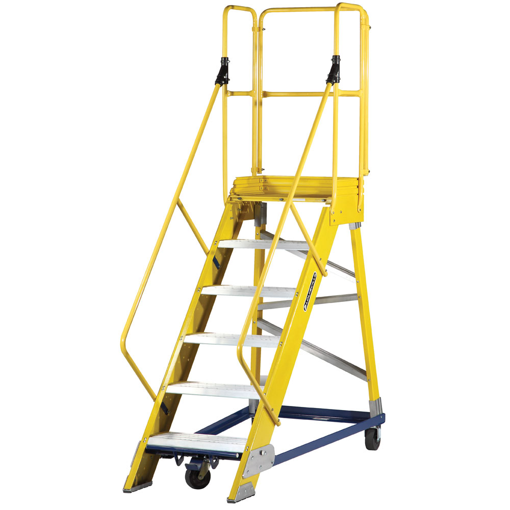 Fiberglass Warehouse Ladder