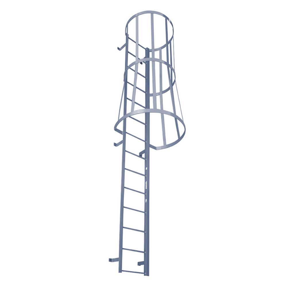 Fixed Ladders W Safety Cages Msc Series