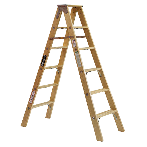 Michigan Ladder - Tradesman Double Front Step Ladder