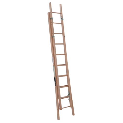Michigan Ladder - Wood Extension Ladder
