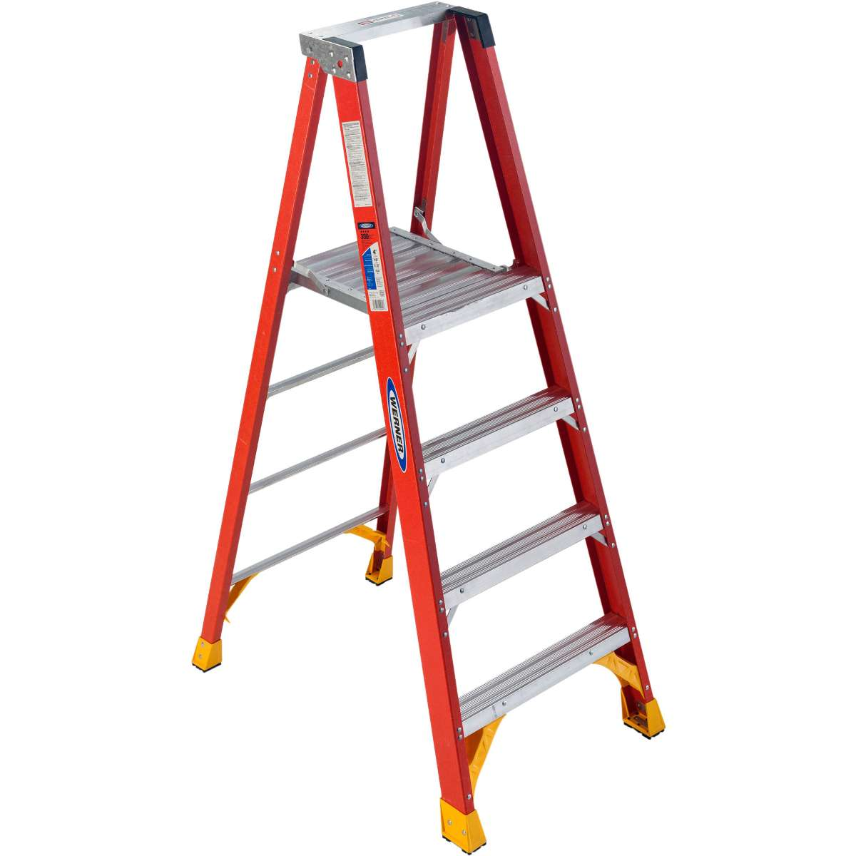 Fiberglass Platform Step Ladder - 300 lb. Capacity (P6200 Series)