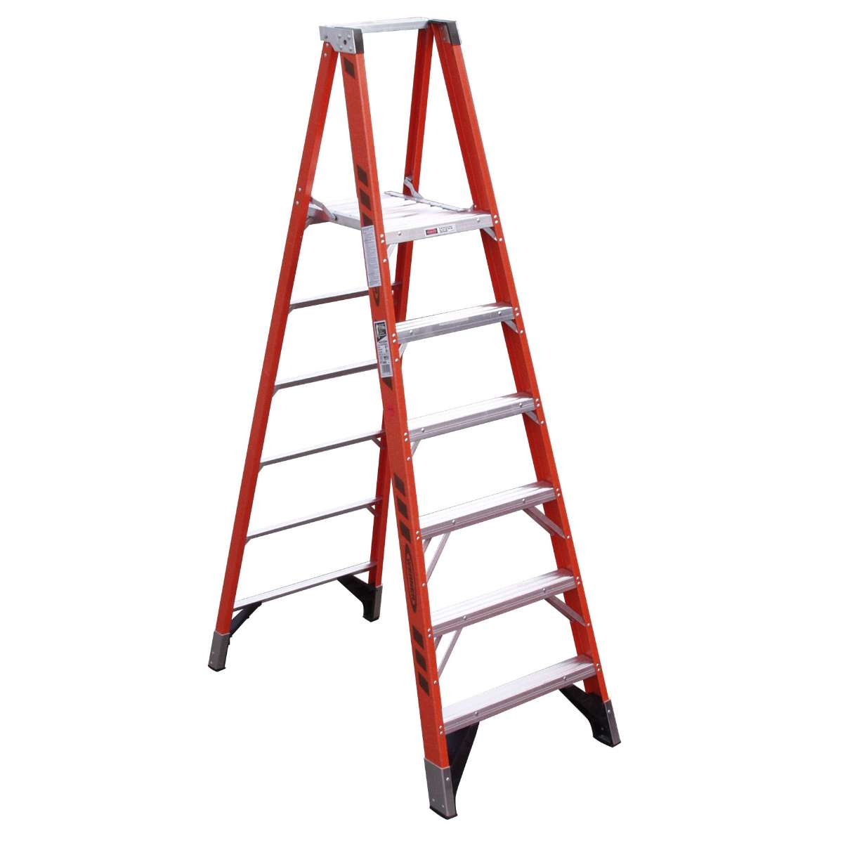 Fiberglass Platform Step Ladder - 375 lb. Capacity (P7400 Series)