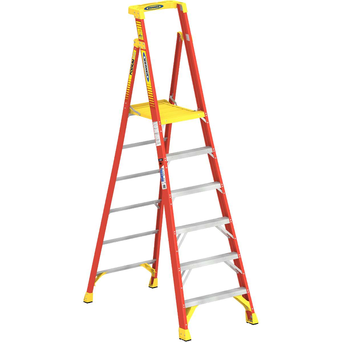 Podium Ladder - 300 lb. Capacity (PD6200 Series)