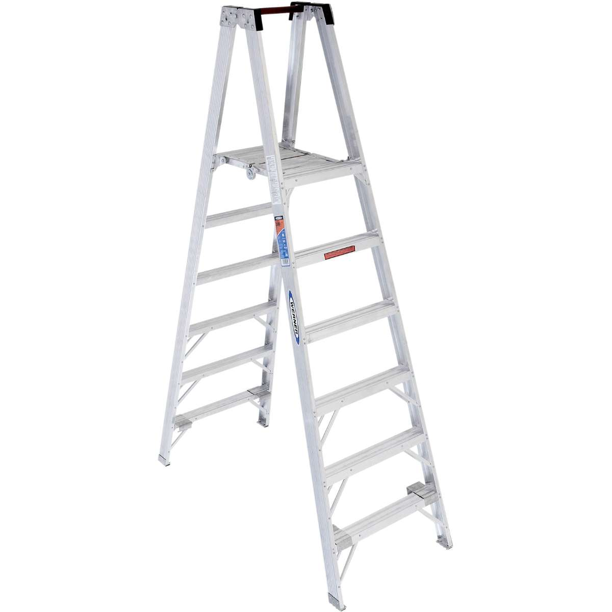 Aluminum Platform Step Ladder - 300 lb. Capacity (PT370 Series)