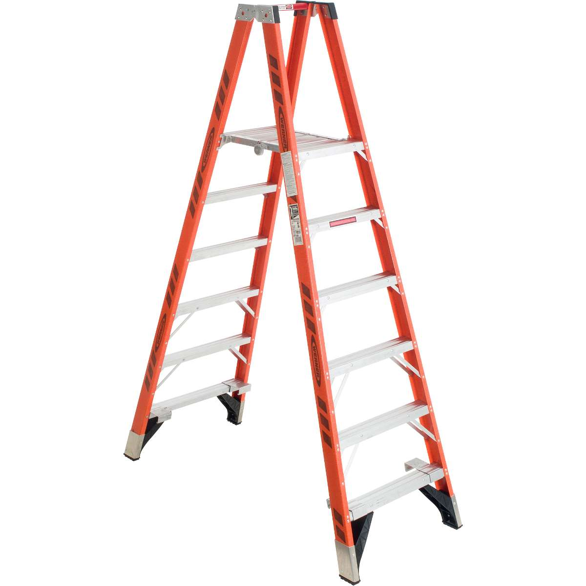 Fiberglass Platform Step Ladder - 300 lb. Capacity (PT7400 Series)