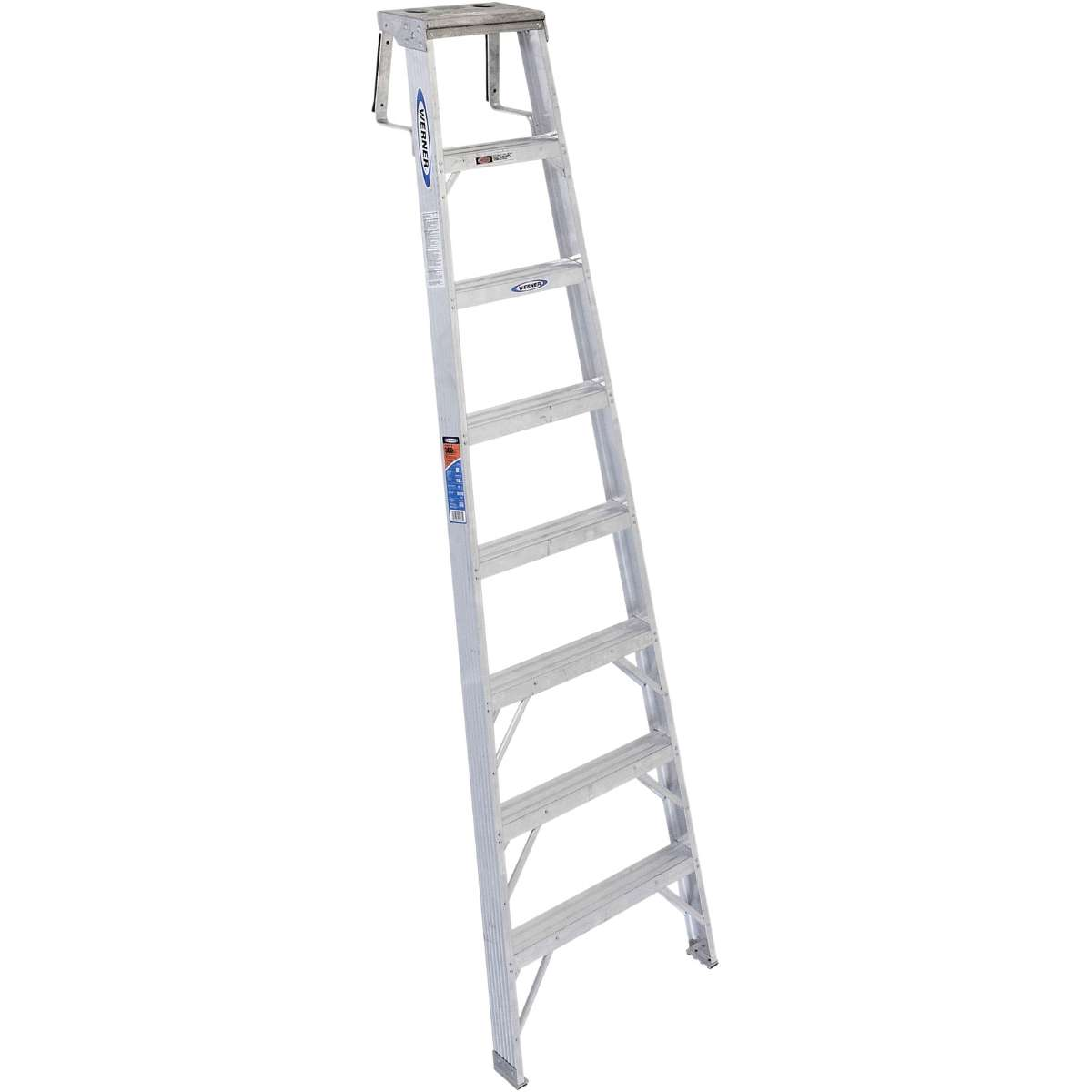 Aluminum Shelf Ladder - 300 lb. Capacity (SH378)