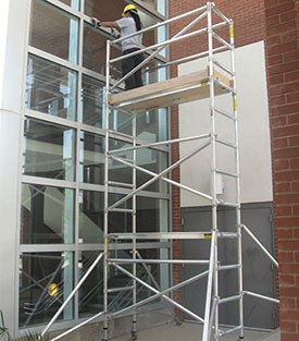 Aluminum Scaffolding Example Valut Scaffolding