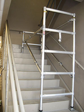 Scaffolding on Stairs Example 2