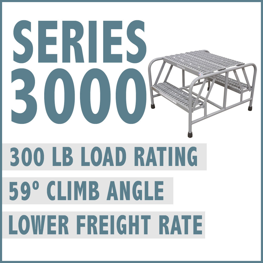 Series 3000 Access Ladders - Twin Step