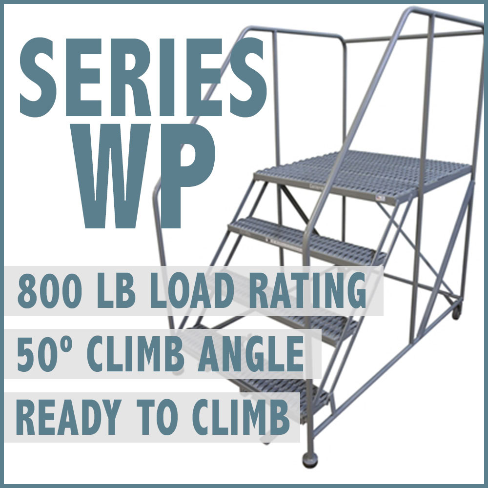 "Series ""WP"" Heavy Duty Welded Steel Work Platforms"