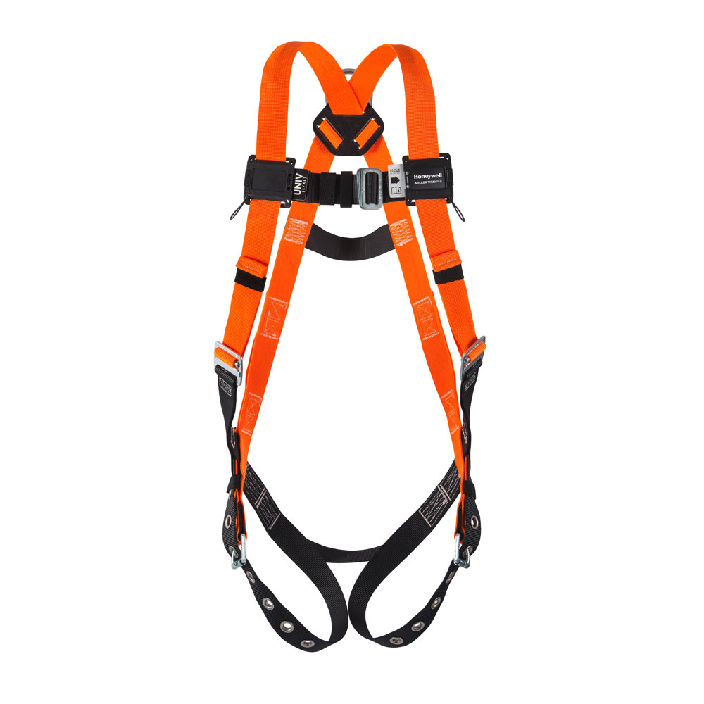 Titan™ Full Body Non-Stretch Harness - Back D-Rings
