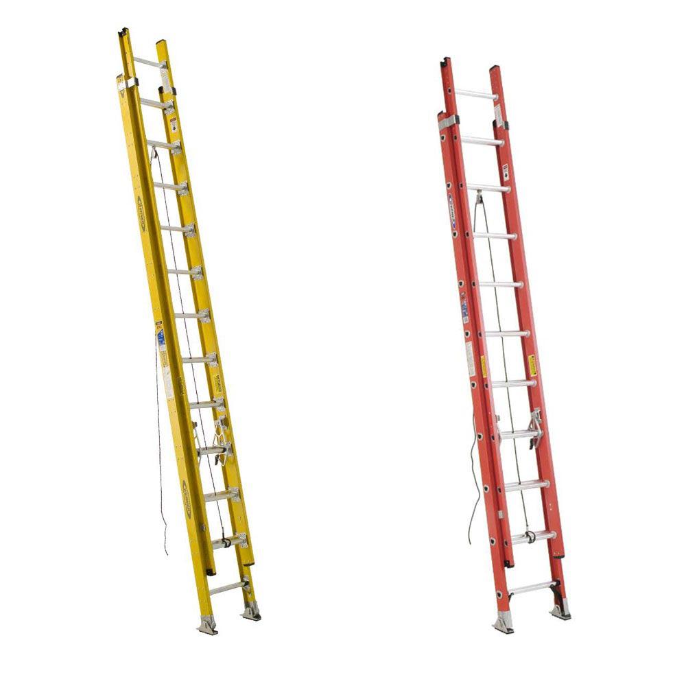 Werner Fiberglass Extension Ladders