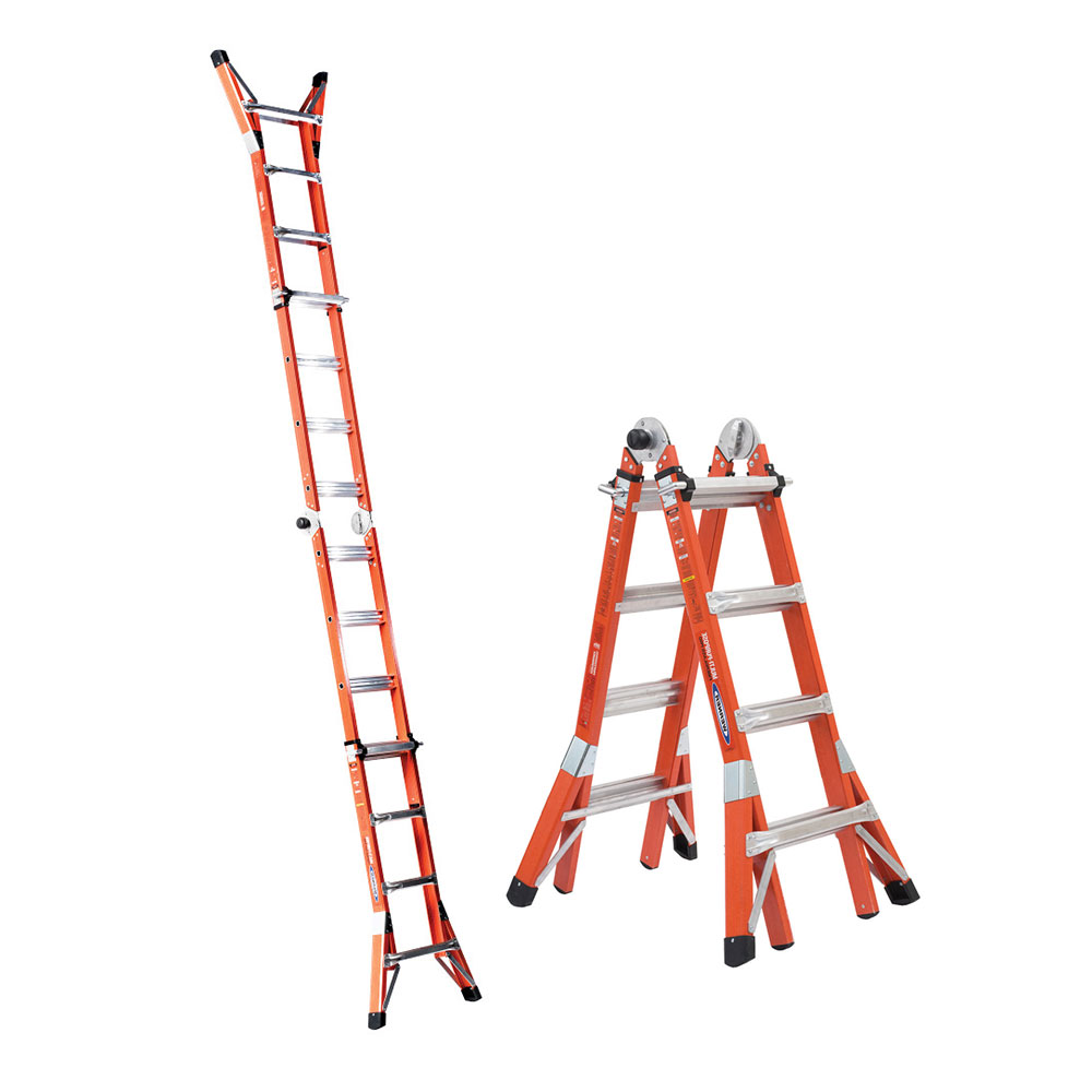 Werner FMT Series Multi-Position Fiberglass Ladder