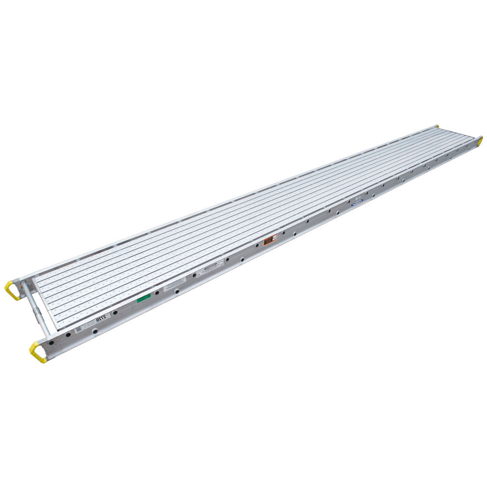 "28"" 2-Person Aluminum Stage"