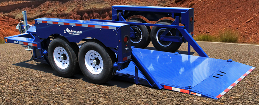 Flatbed Airtow Trailer for sale