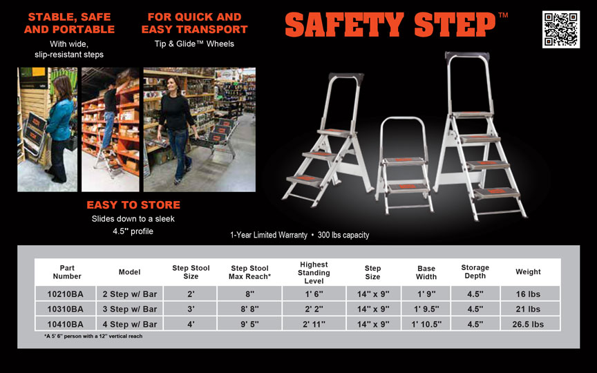 Little Giant Safety Step Technical Specifications