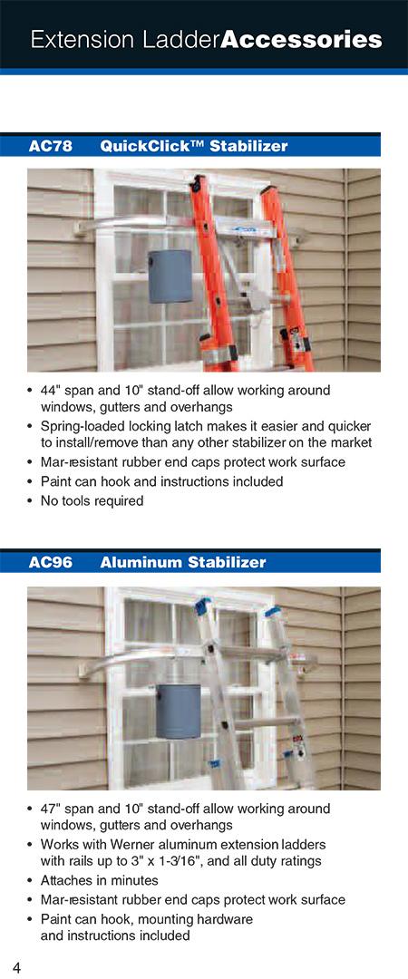 Werner Ac96 Universal Stabilizer
