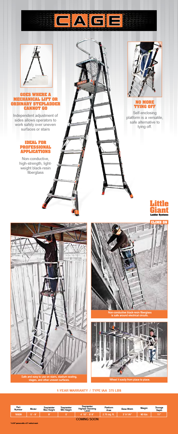 Safety Cage Little Giant