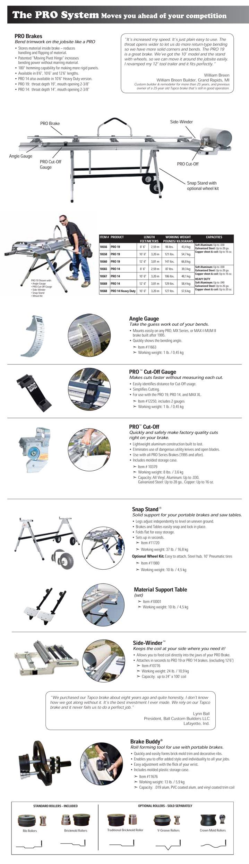 Tapco Pro 19 Siding Brake