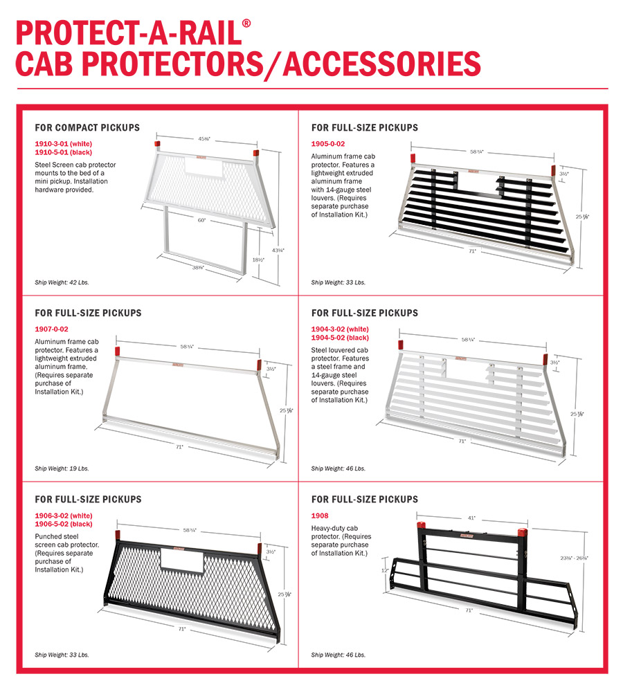 Weather Guard Truck Cab Protector